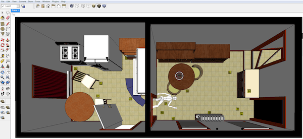 ACSR - St. Clair, Maloney, Schade - SketchUp Crime Scene - With Perspective