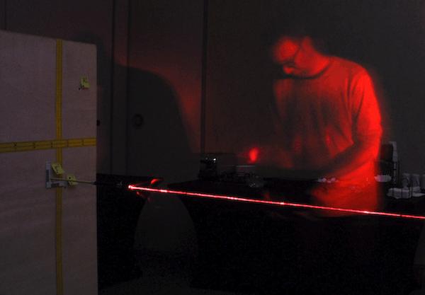 Shooting Incident Reconstruction - Laser Trajectories
