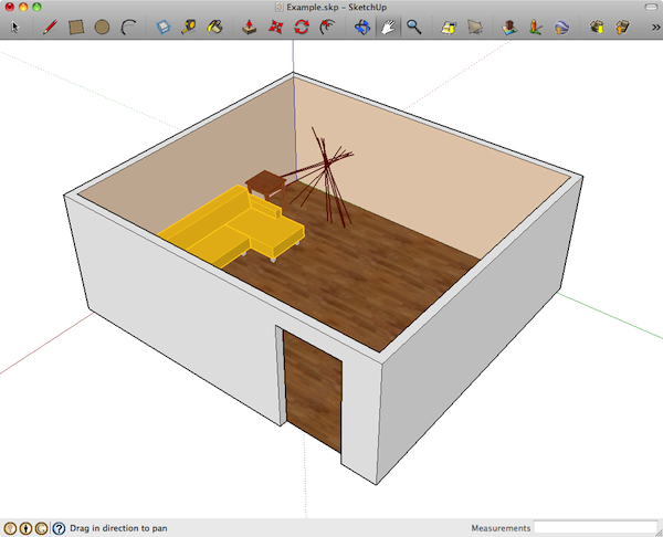 HemoSpat data imported into SketchUp [Mac OS X]